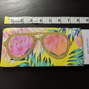 Posh + Pop Accessories - Posh + Pop Tropical Soft Eyeglass Case
